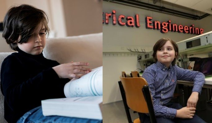 11-year-old boy bags bachelor's degree in Physics while taking master's courses on the side