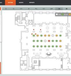 allseated 2d floorplan [ 1539 x 918 Pixel ]
