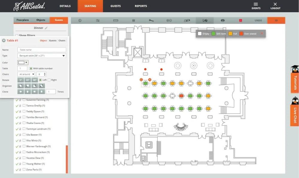medium resolution of allseated 2d floorplan