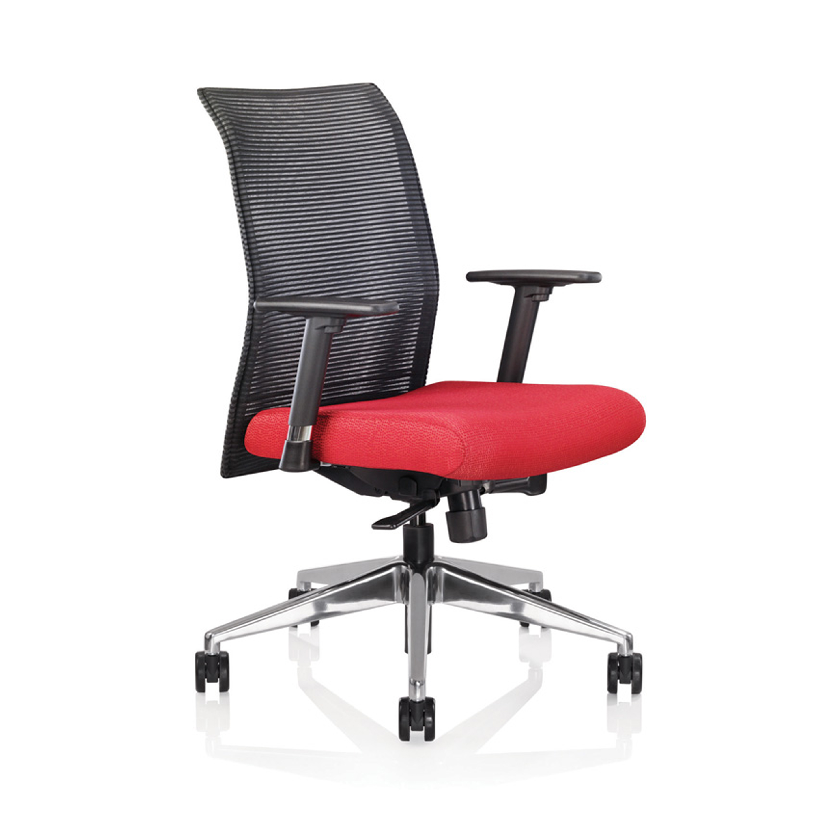 ergonomic chair data vintage wooden chairs zip mesh task allseating