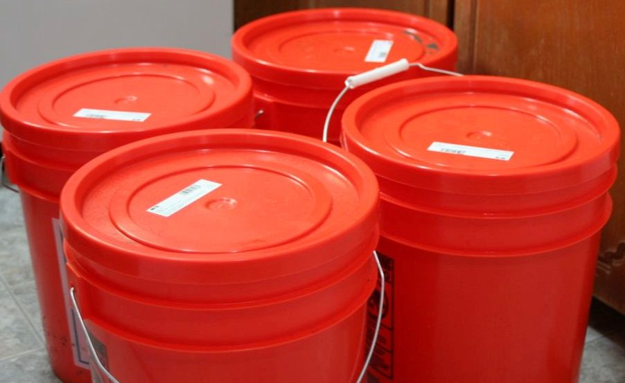 Five Gallon Buckets The Ultimate Airtight Storage