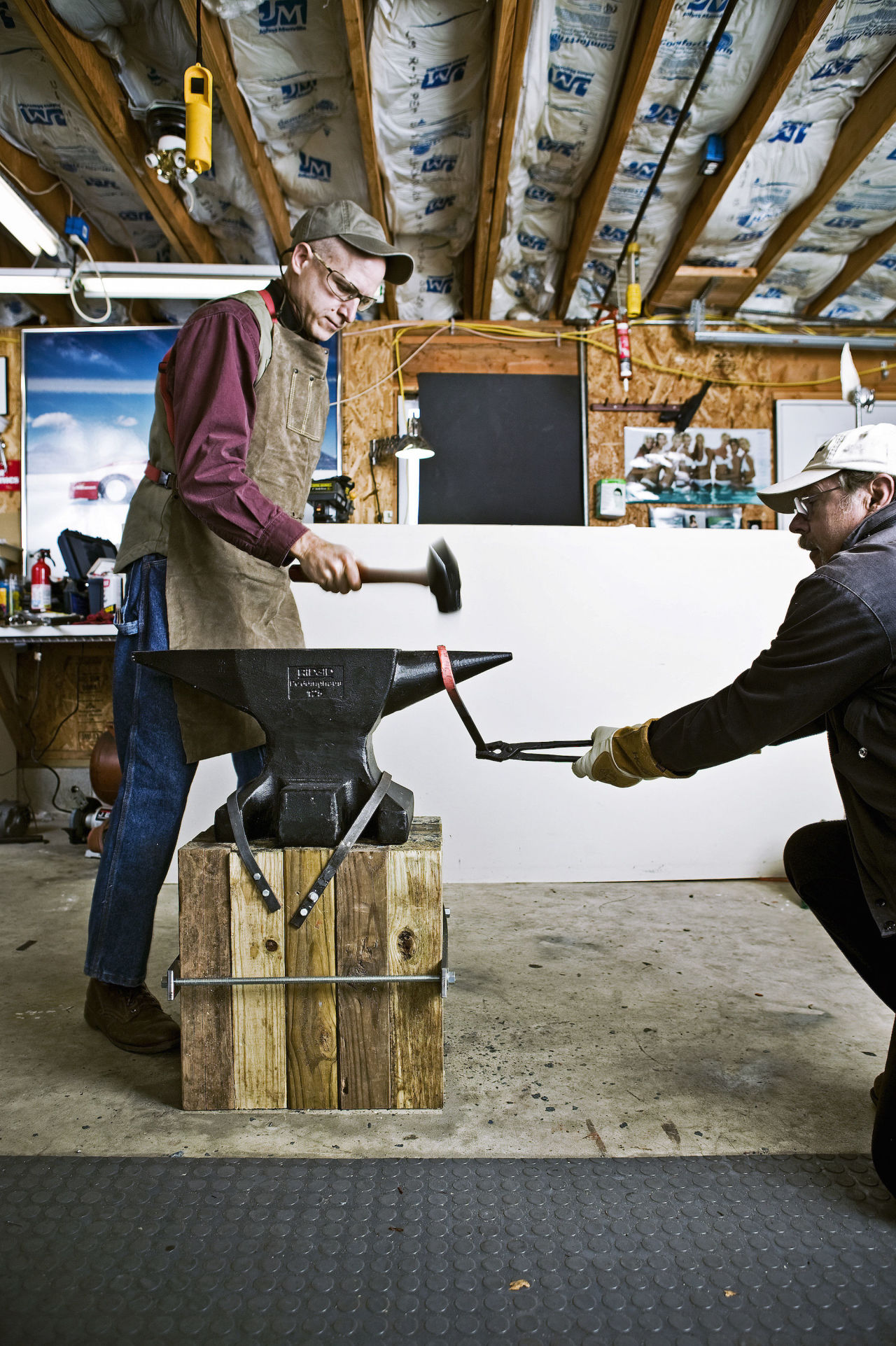 Blacksmithing 101: How to Make a Forge and Start Hammering ...