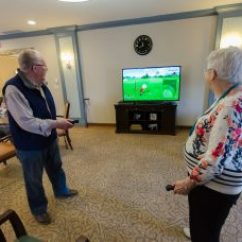 Chair Games For Seniors Modern Bedroom Chairs Senior Living Advice Blog All Care Video Wii