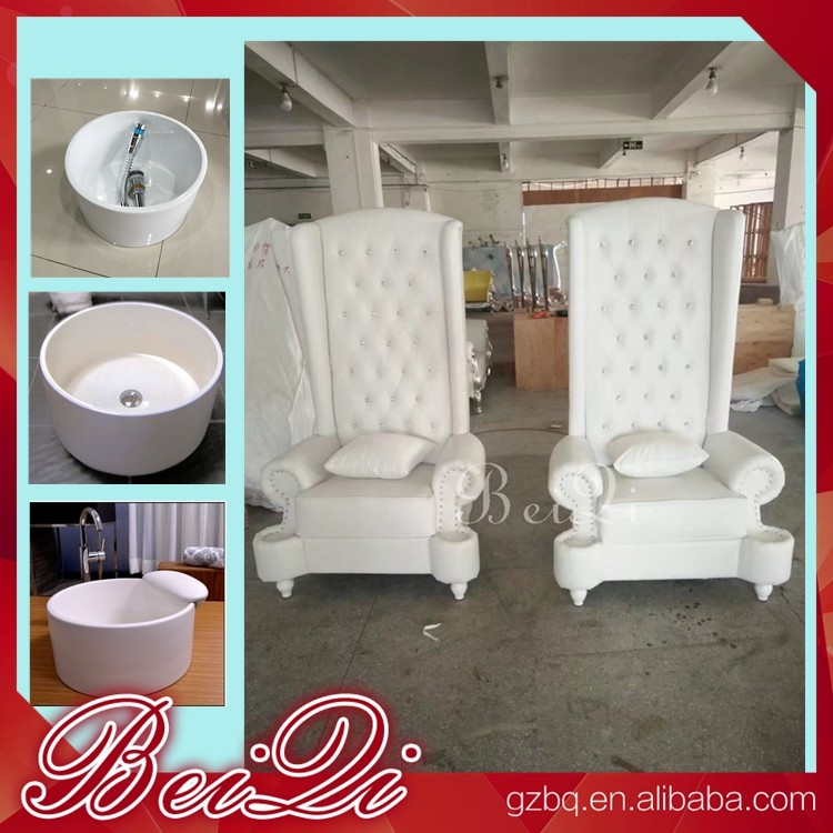 high backed throne chair hip chairs sale pedicure spa with back comfortable luxury massage for nail