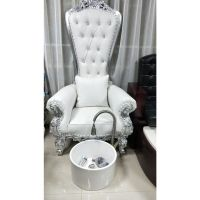 BeiQi Luxury High Back Pedicure Chairs Used Nail Salon ...