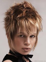 fabulous short spiky hairstyles