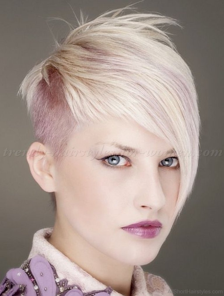70 Adorable Short Undercut Hairstyle For Girls