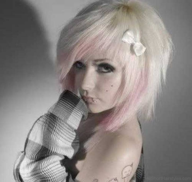 Emo Girl Hairstyles For Short Hair Bedwalls