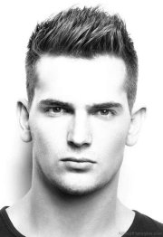 spiky hairstyle boy - hairstyles