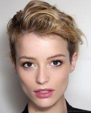 adorable short undercut hairstyle