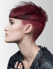 adorable short undercut hairstyle