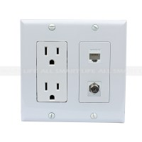 Electrical Outlet Wall Plates Magnificent Ac 15A 110V ...