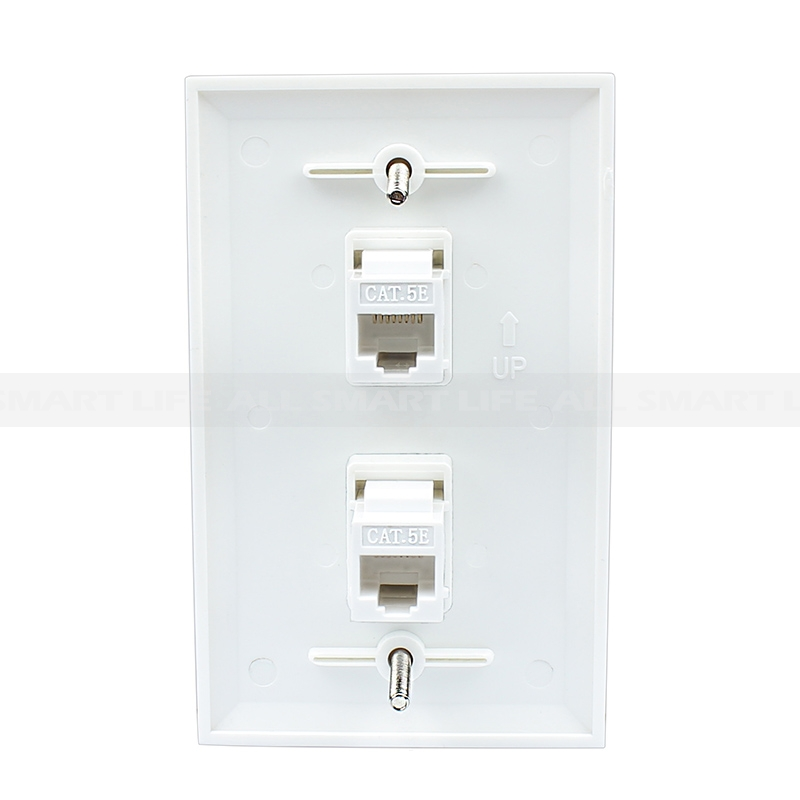 tech cat5e jack wiring diagram hotpoint aquarius vtd00 decora wall plate ethernet cable house ~ elsalvadorla