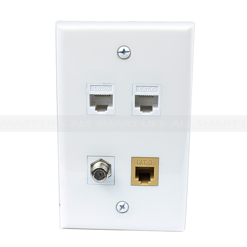 Network Wall Plate Wiring