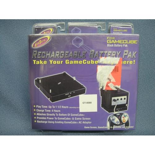 Intec Rechargeable Battery Pack For Gamecube Allsoldca