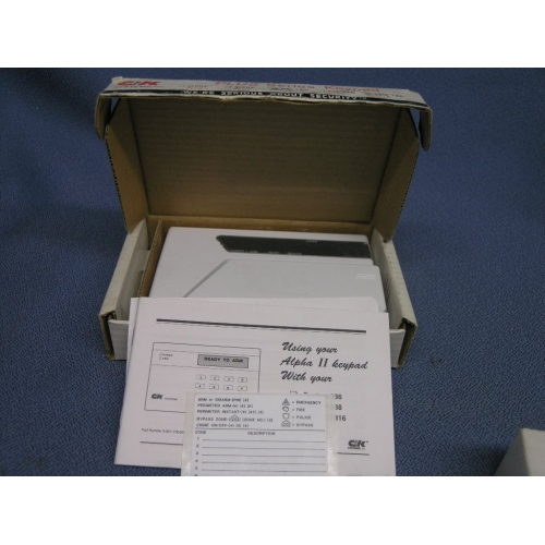 CK 236 LED System Keypad Alpha II Security Alarm  Allsoldca  Buy  Sell Used Office