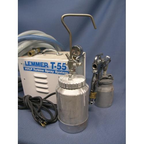 Lemmer Spray Systems  Turbine HVLP Sprayer T55  Allsold