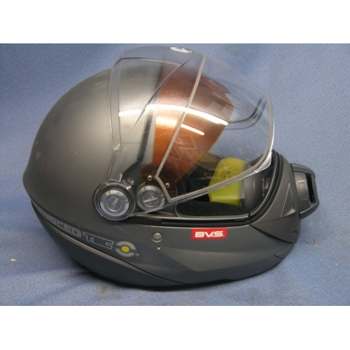 SkiDoo BV2S Electric SE Helmet  Black Small  Allsoldca
