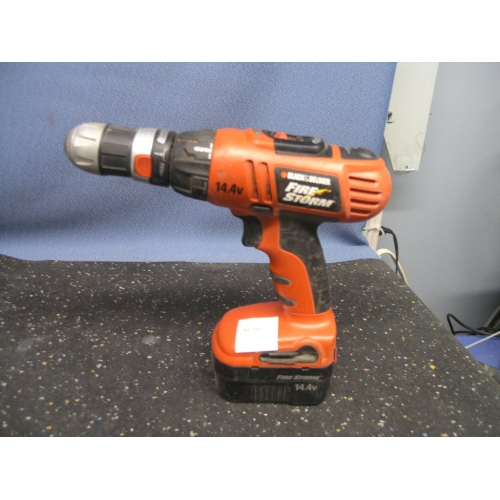Black and Decker Firestorm 144 Drill No Charger  Allsold