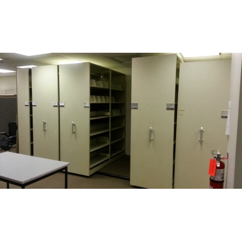 Rolling File Cabinet System  Allsoldca  Buy  Sell Used