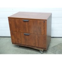 Autumn Maple 2 Drawer Lateral Filing Cabinet, Locking ...