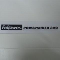 Ergonomic Chair Staples Baby Shower For Mom Fellowes Powershred 320 Paper Shredder - Allsold.ca Buy & Sell Used Office Furniture Calgary
