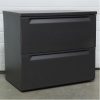 Herman Miller Grey 2 Drawer 30 in. Lateral File Cabinet ...