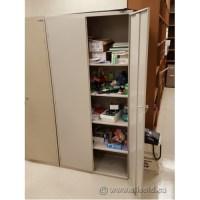 Global Beige Metal 2 Door Storage Cabinet - Allsold.ca ...