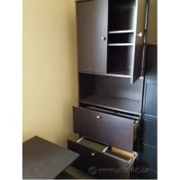 IKEA Effektiv Espresso 2 Drawer Lateral File Cabinet w ...