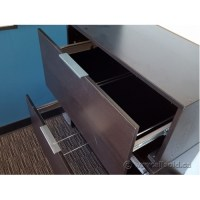 IKEA Effektiv Espresso 2 Drawer Lateral File Cabinet ...