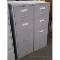 Prosource Grey 4 Drawer Vertical Legal File Cabinet ...
