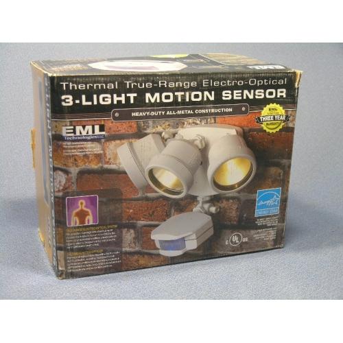 EML Thermal 3Light Motion Sensor Outdoor Light  Allsoldca  Buy  Sell Used Office Furniture
