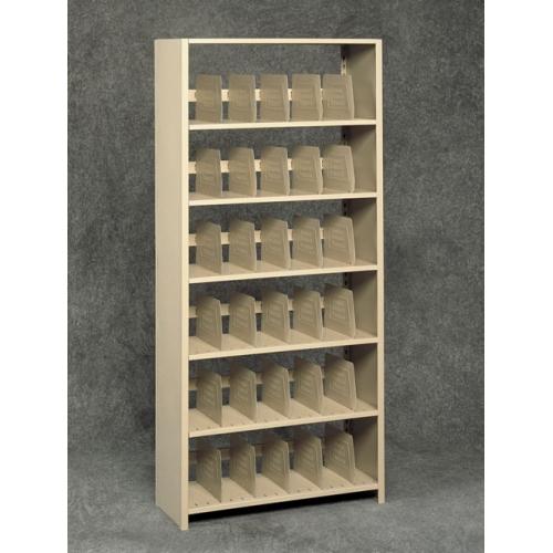 Tennsco Open Shelf Tab File Shelving  Rolling Systems