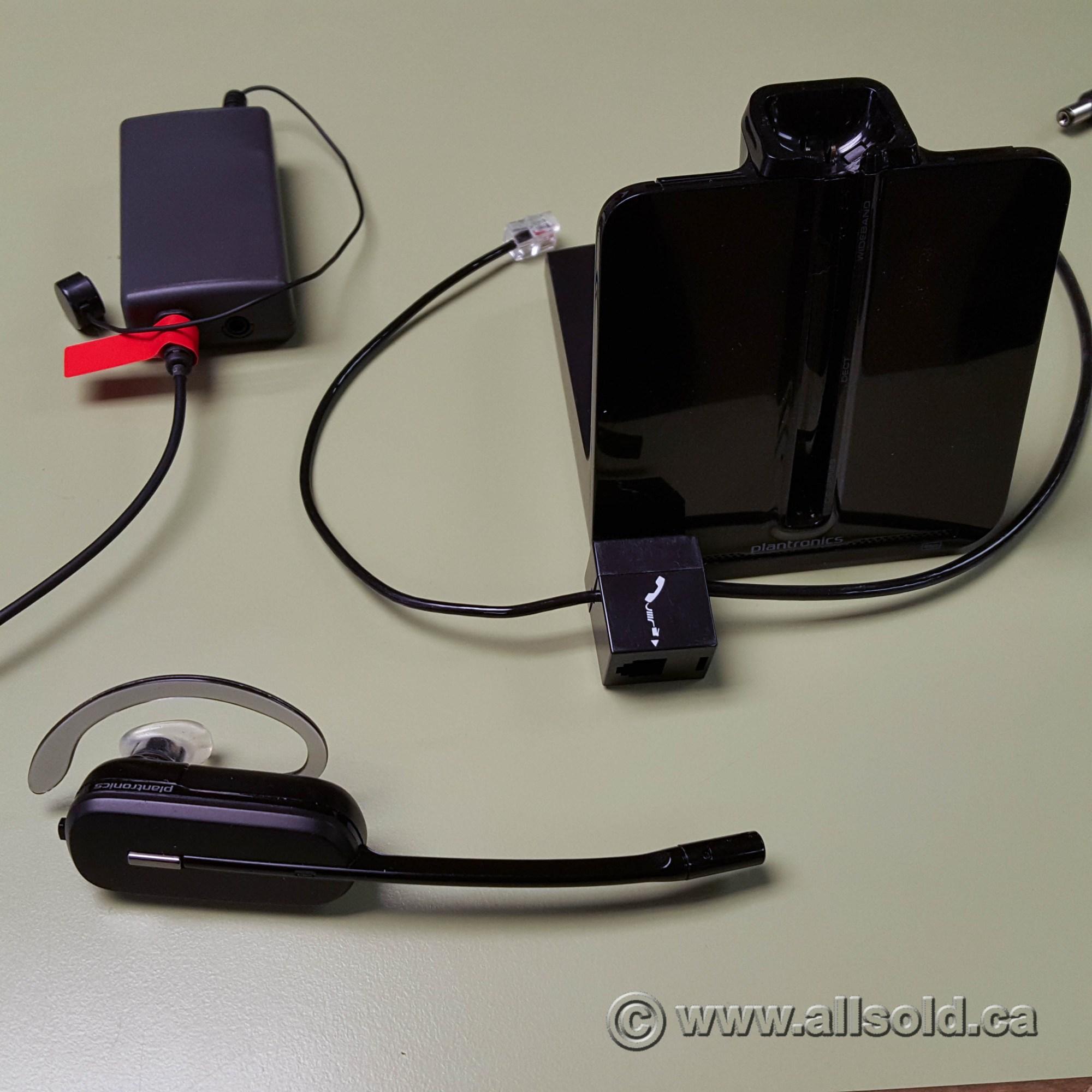 hight resolution of plantronics cs540 wireless convertible handsfree spare headset