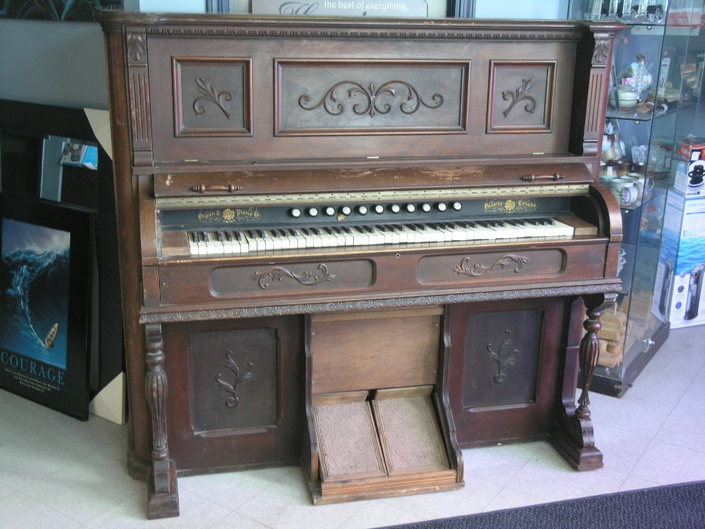 Antique Bowmanville Pump Pedal Organ  Working  Allsold