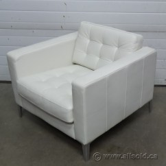 Ikea Lounge Chair Ergonomic Office Reviews Landskrona White Leather Reception