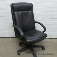 Rolling Chair Parts Wedding Covers Liverpool High Back Black Luxury Leather Executive Meeting