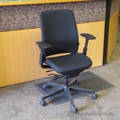 Steelcase Amia Chair Home Studio Richmond Dining Chairs Black Adjustable Ergonomic Task W