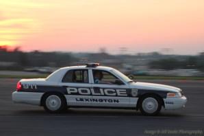 Lexington, KY police car