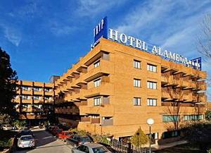 Tryp Hotel Alameda Aeropuerto Modern Hotel Near The