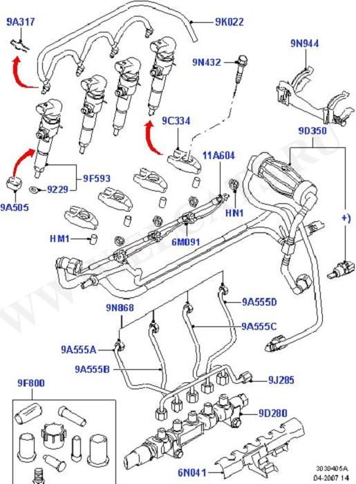 Каталог запчастей Ford Fiesta/Fusion 2001- (CBK