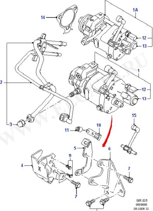 Каталог запчастей Ford Mondeo 2000- (GE) : Diesel (AI