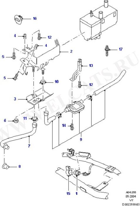 Каталог запчастей Ford Galaxy 2000- (VY) : Кузов и части