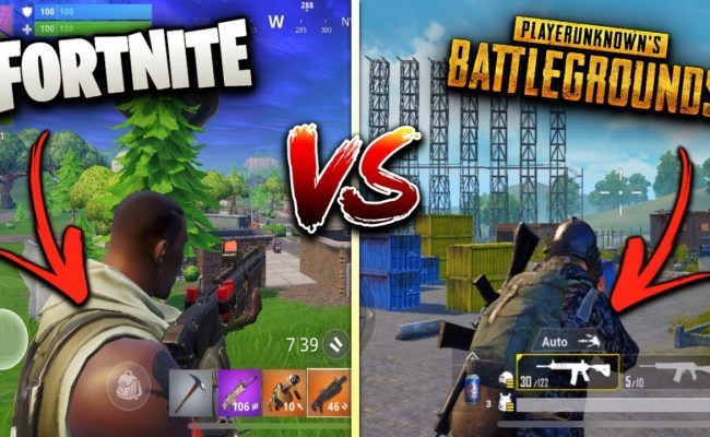 Tech Games Esports Why Is Fortnite Better Than Pubg