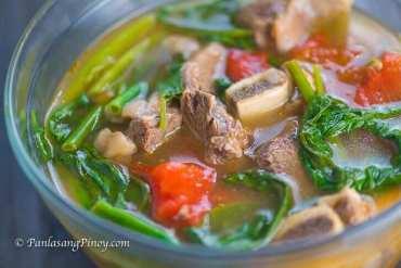 Panlasang Pinoy Beef Short Rib Sinigang