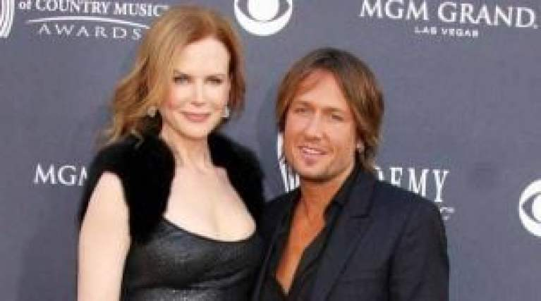 Nicole Keith with her husband Keith Urban