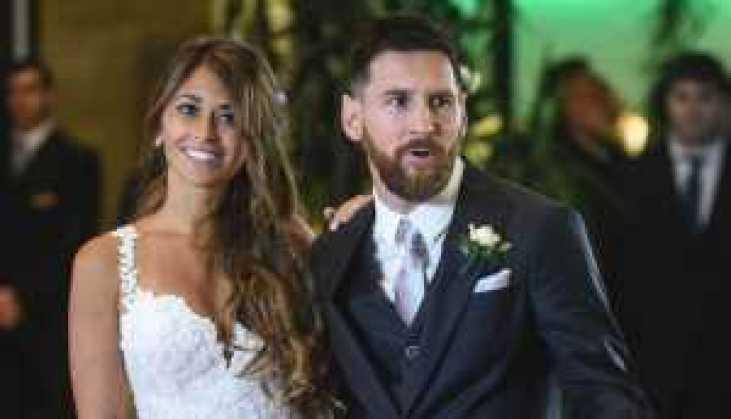 Lionel Messi And Antonella Roccuzzo's wedding