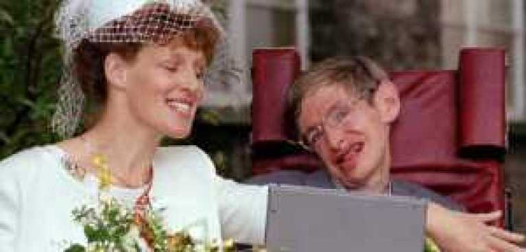 Stephen Hawkings & Elaine Mason