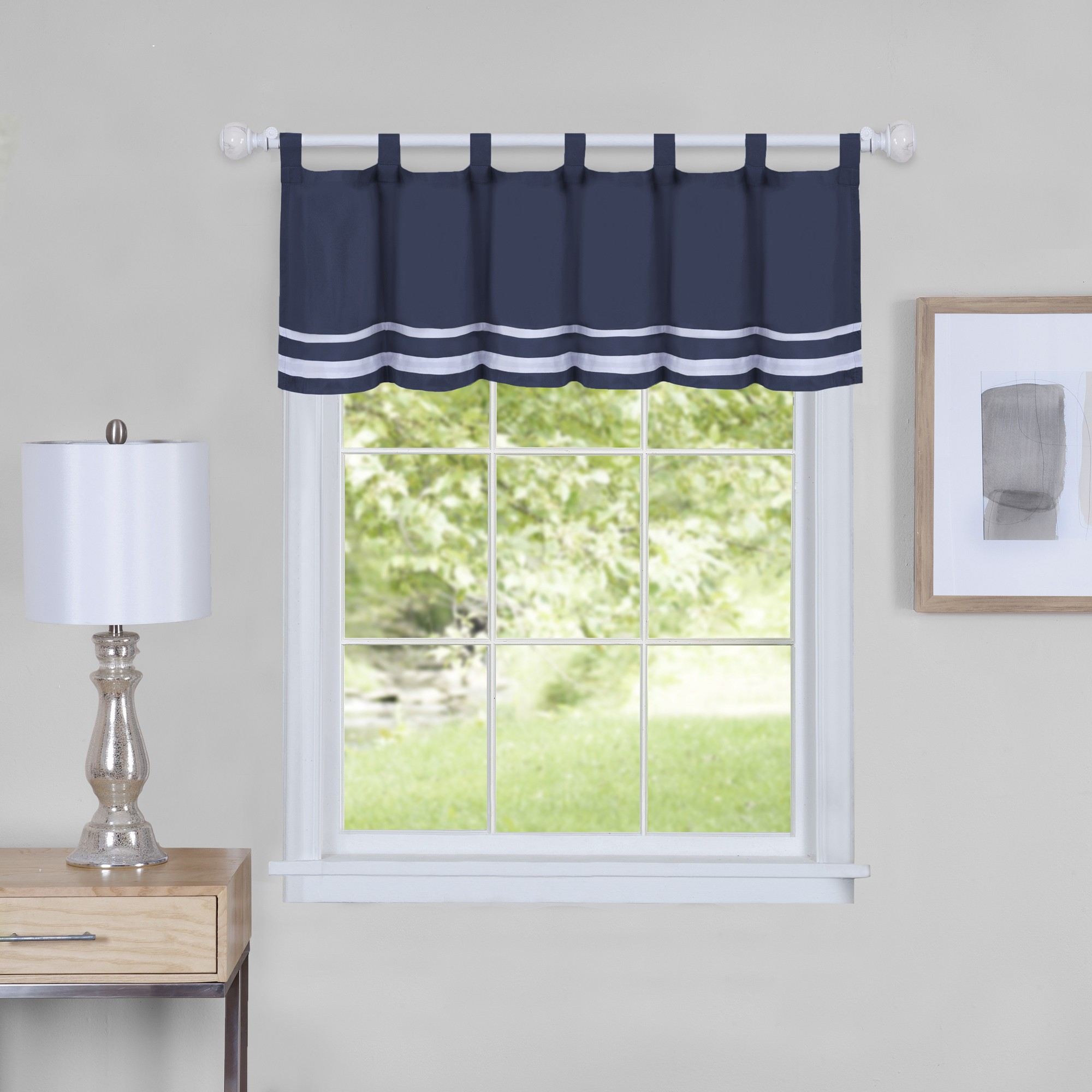 Dakota Window Curtain Valance