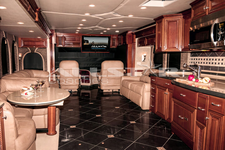 Newmar Essex Luxury RV Rental  Allstar Coaches